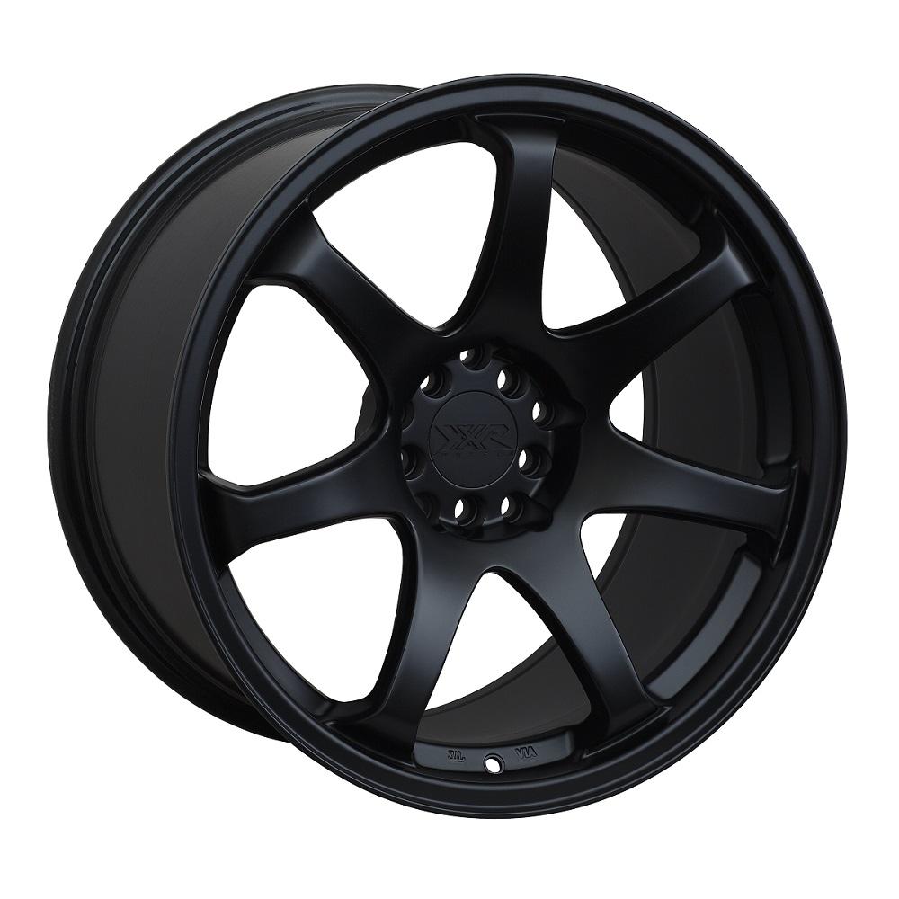 551 - Flat Black - 17x9.25