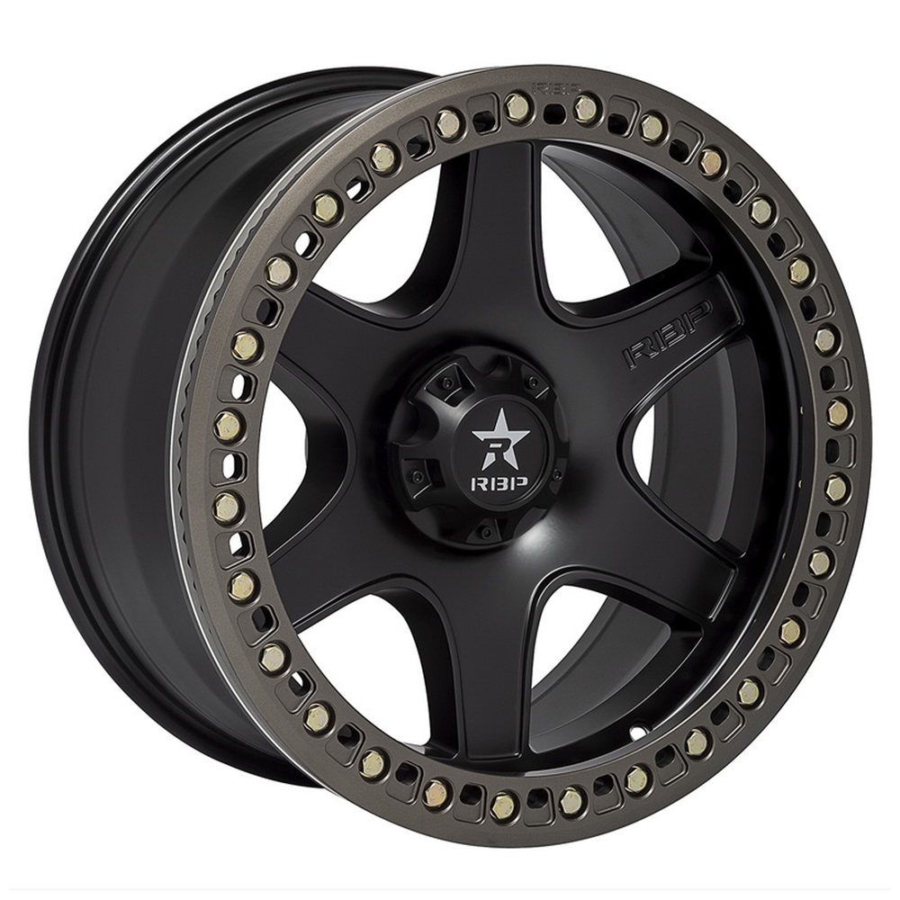 RBP Wheels 50R Cobra - Black w/Bronze Ring Rim