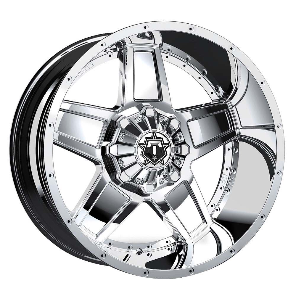 TIS Wheels 543C - Chrome (TIS logo) Rim