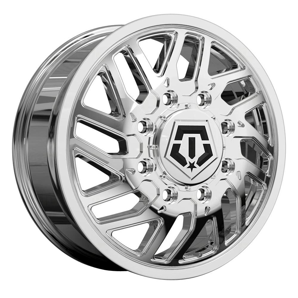 TIS Wheels 544C Dually Front - Chrome Rim