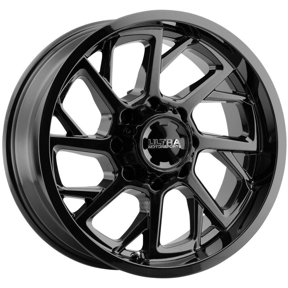 Ultra Wheels 120 Patriot - Gloss Black with Clear Coat Rim