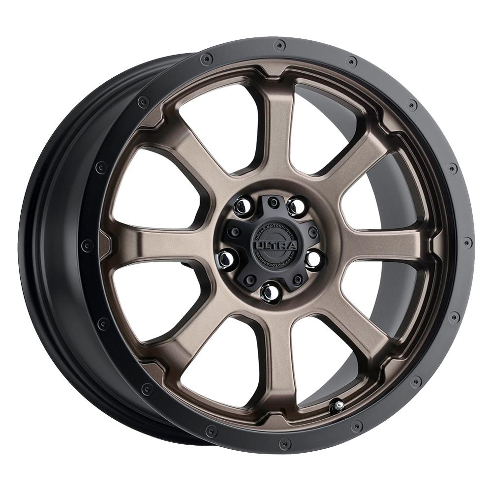 Ultra Wheels 219 Nemesis - Dark Satin Bronze w/Satin Black Lip & Clear-Coat Rim
