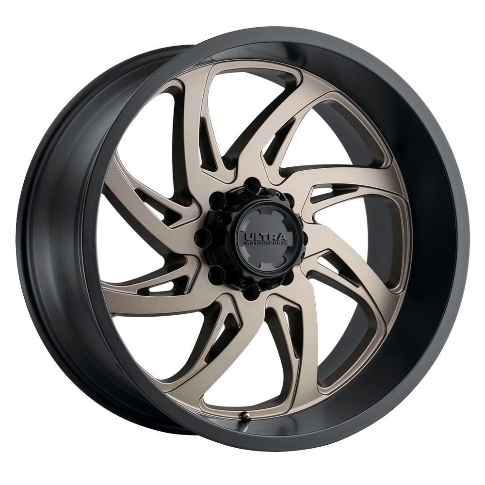 Ultra Wheels 230 Villain - Dark Satin Bronze w/Satin Black Lip Rim