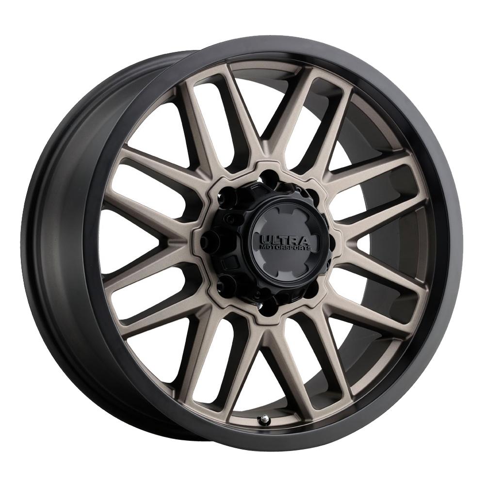 Ultra Wheels 231 Butcher - Dark Satin Bronze w/Satin Black Lip Rim