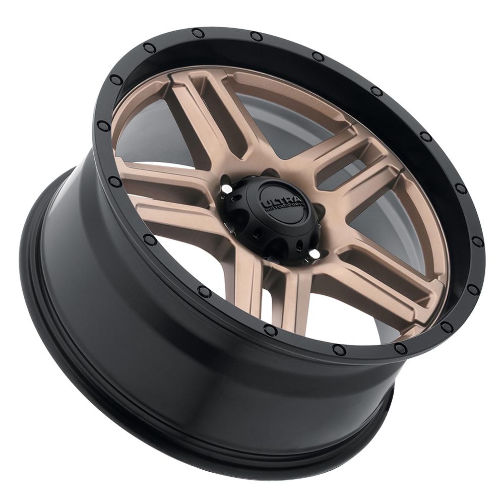 Ultra Wheels 258 Prowler Truck - Dark Satin Bronze w/Satin Black Lip Rim