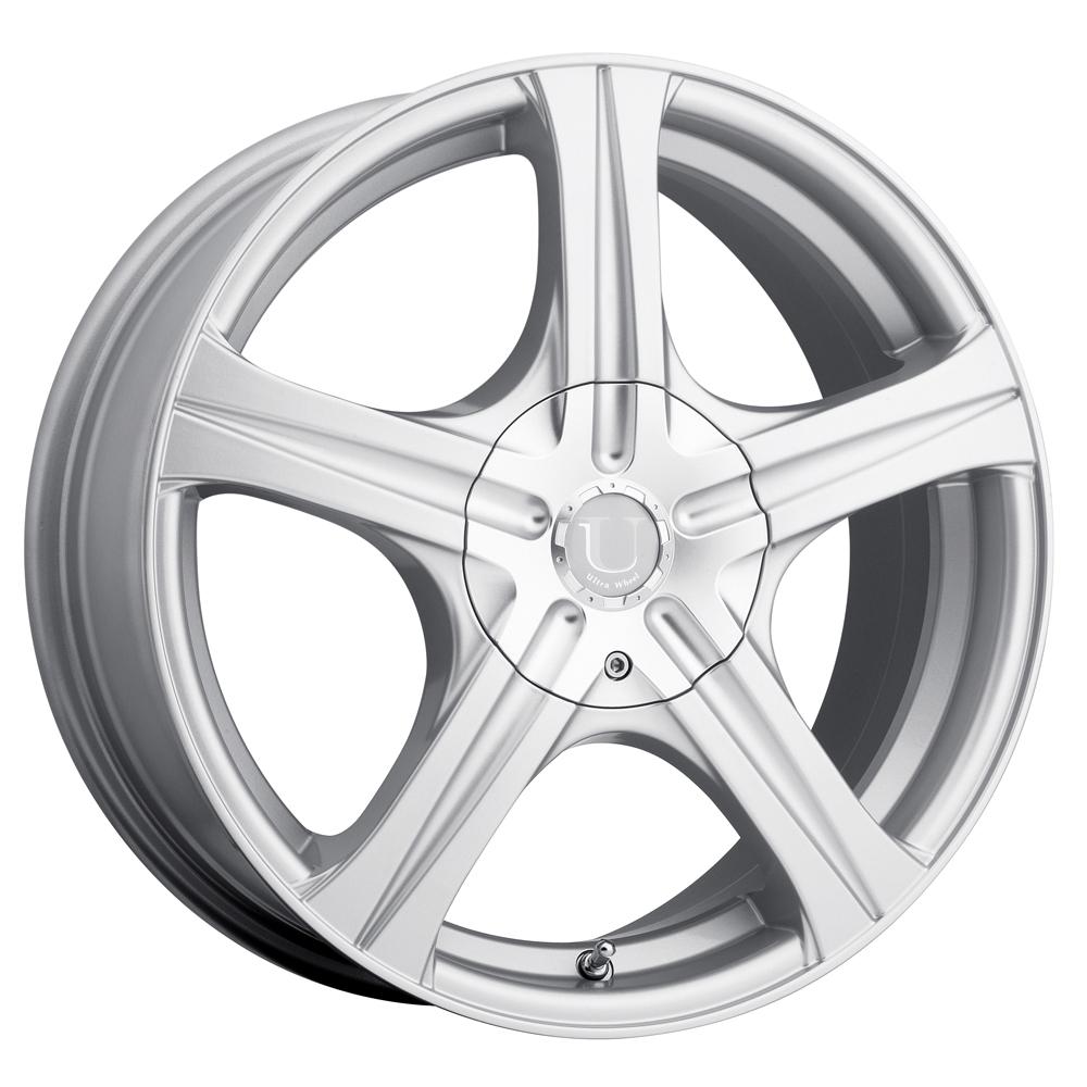 Ultra Wheels 403 Slalom - Silver Rim