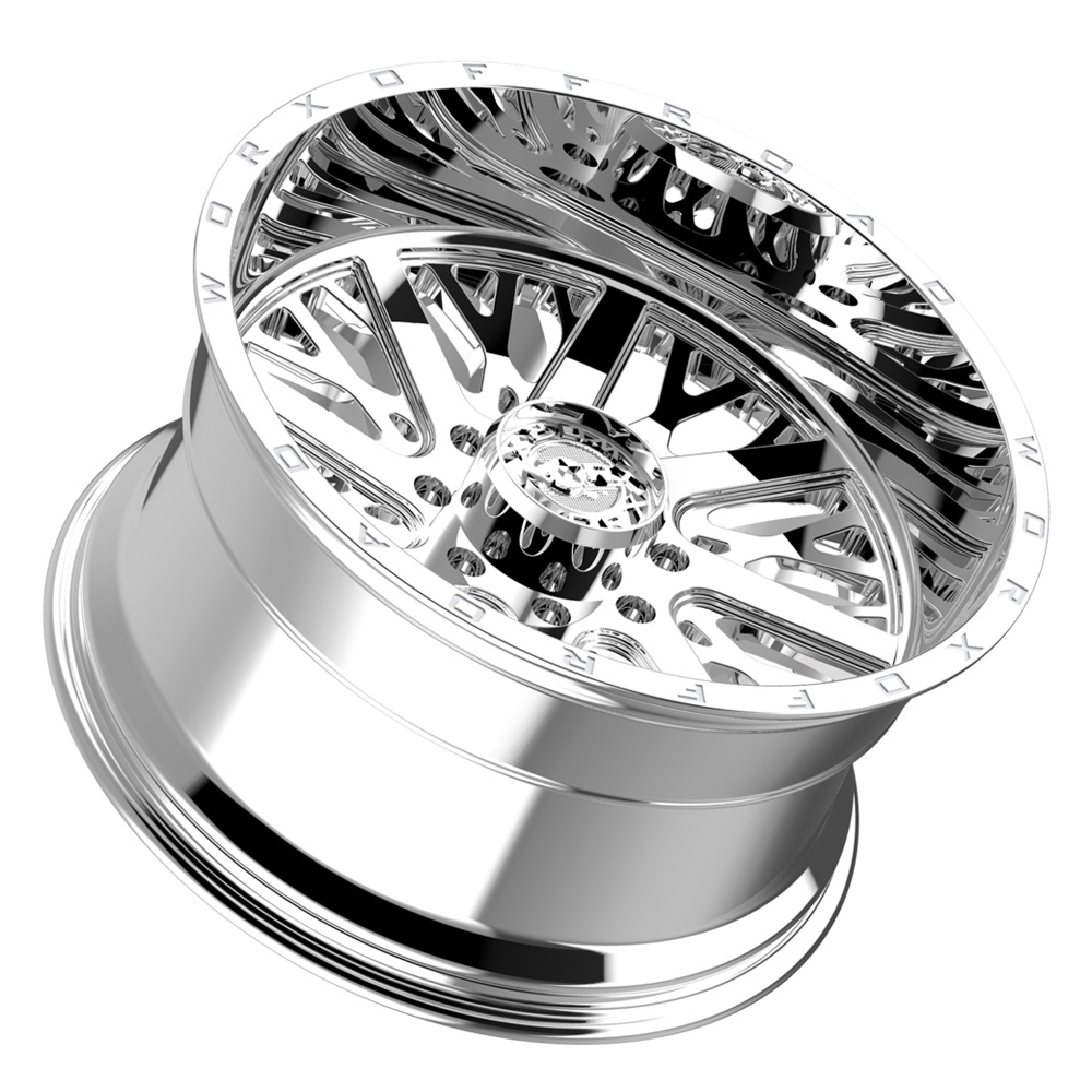 Worx Wheels 816C Overtime - Chrome Rim