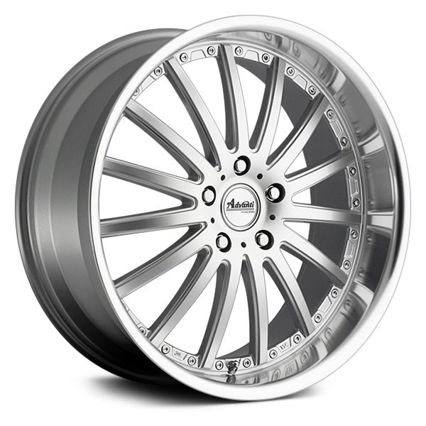Advanti Wheels Afoso - Flash Silver / Mirror Face Polish