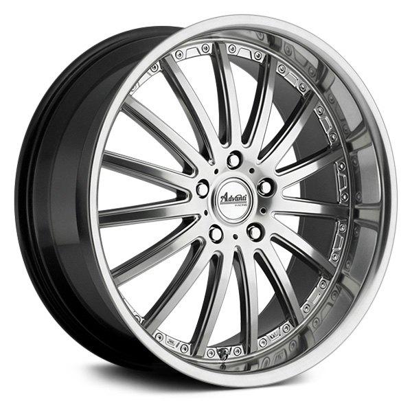 Advanti Wheels Afoso - Titanium Mirror Rim