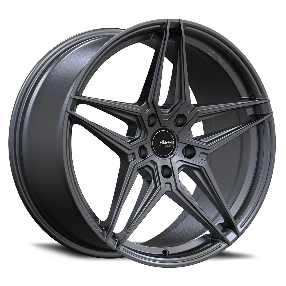 Advanti Wheels Decado - Dark Metallic Anthracite Rim