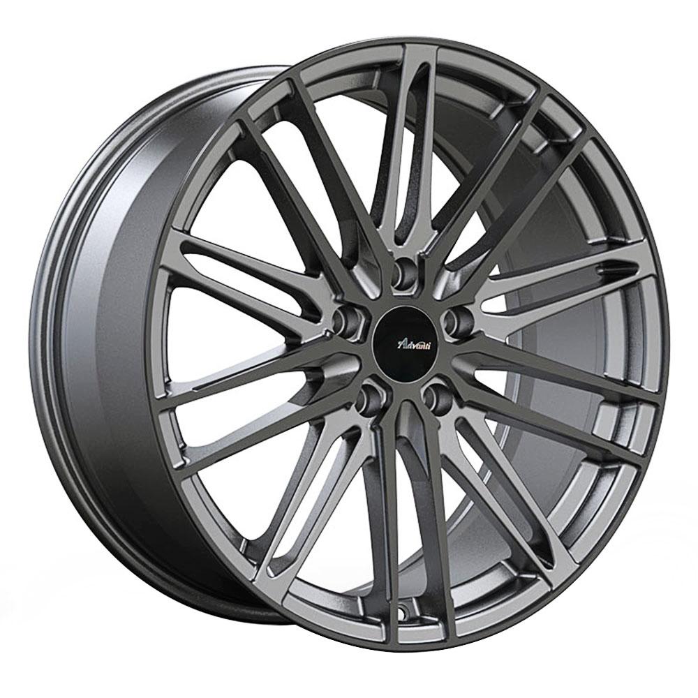 Advanti Wheels Diviso - Matte Gunmetal Gloss Black Face Rim