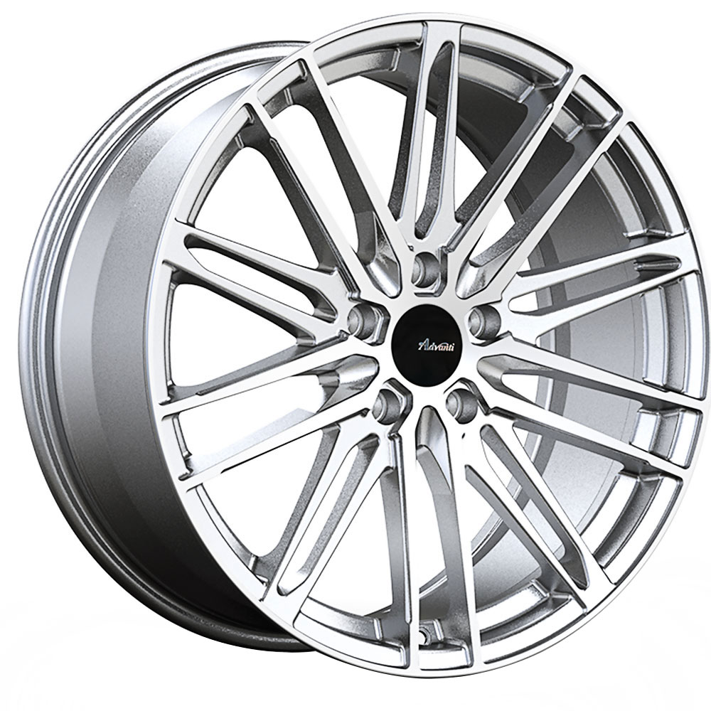 Advanti Wheels Diviso - Silver Machine Face Rim