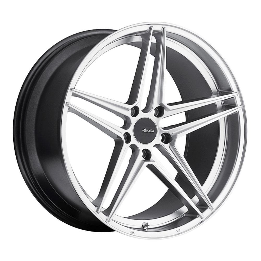 Advanti Wheels Rein - Hyper Silver Rim