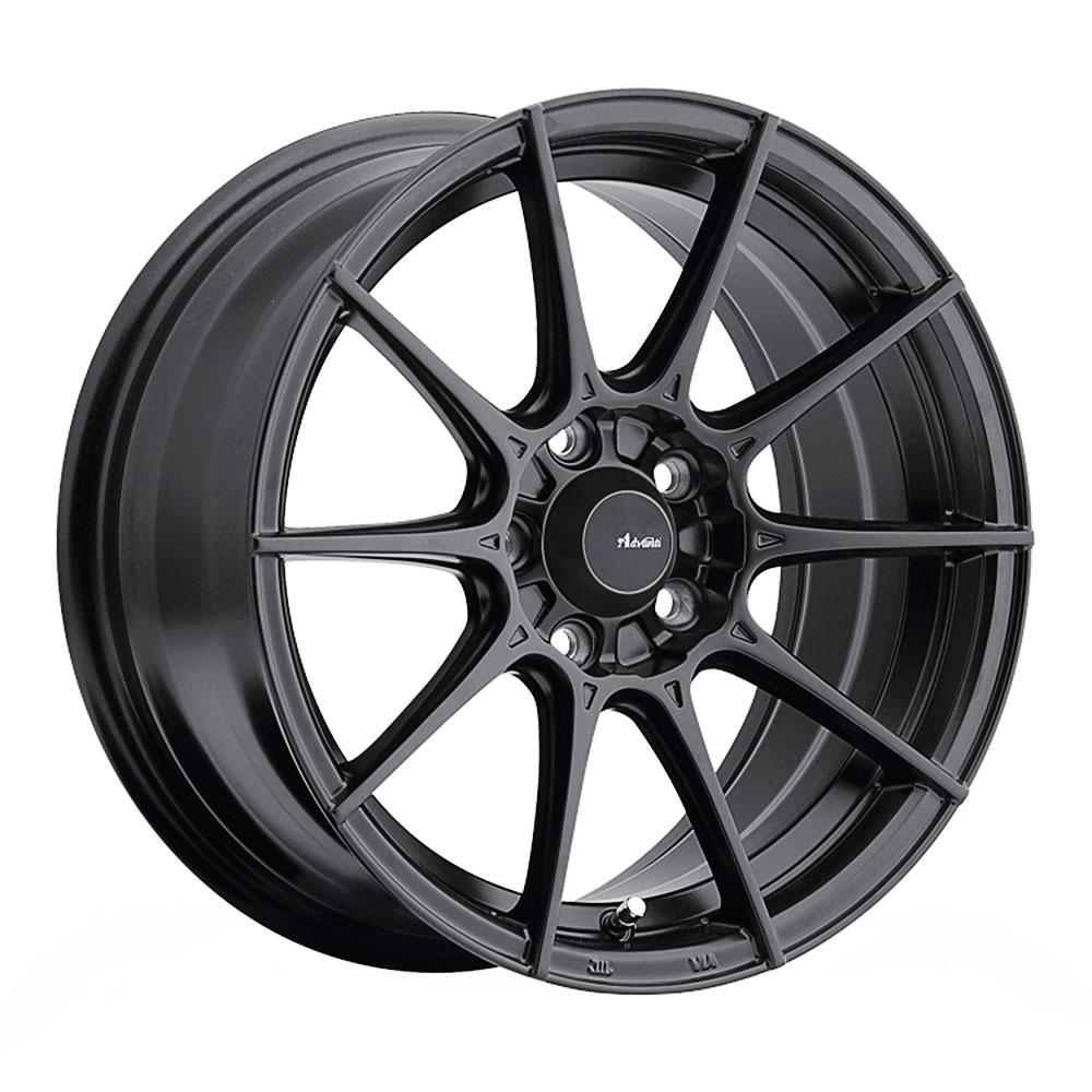 Advanti Wheels Storm S1 - Matte Black Rim