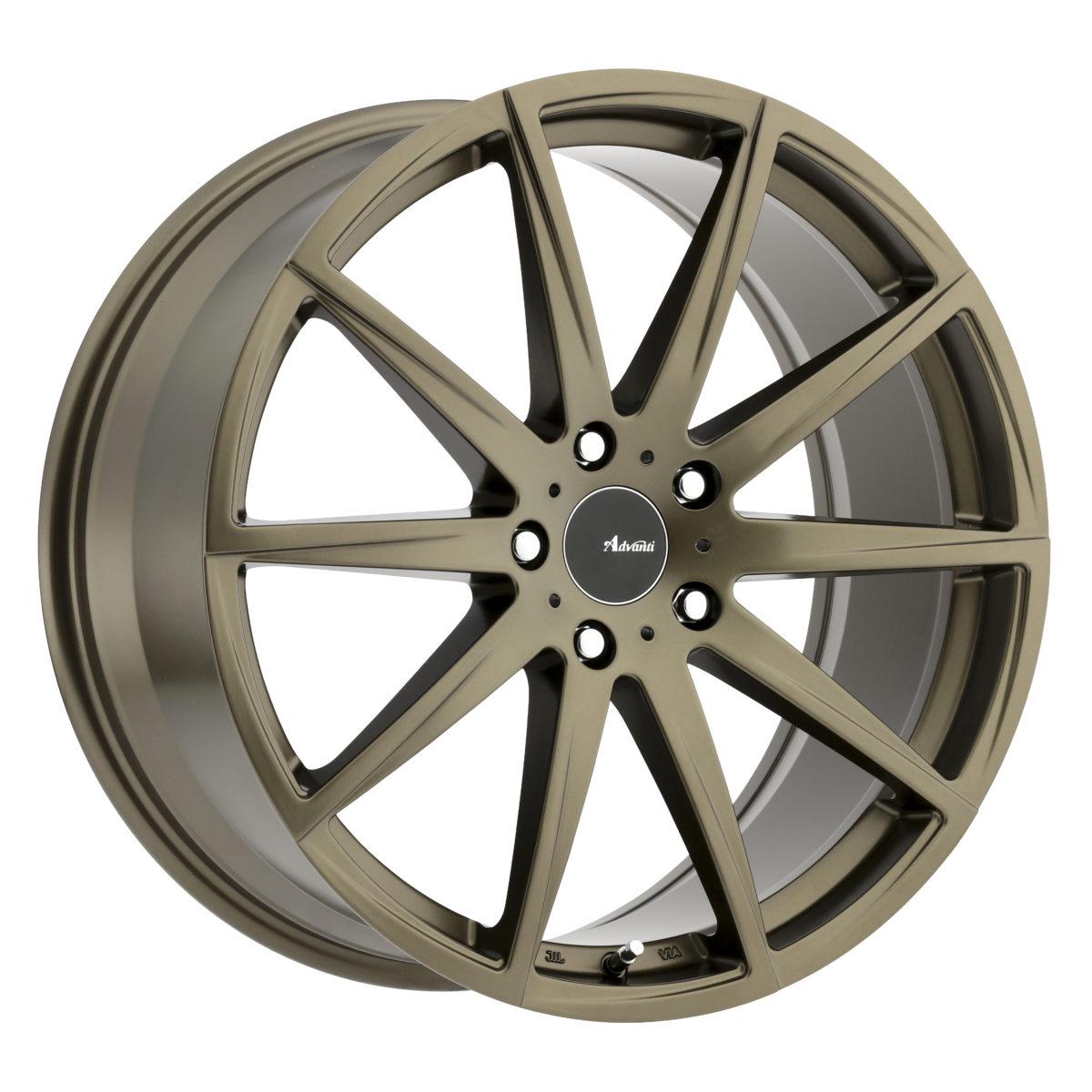Advanti Wheels Dieci - Bronze Rim
