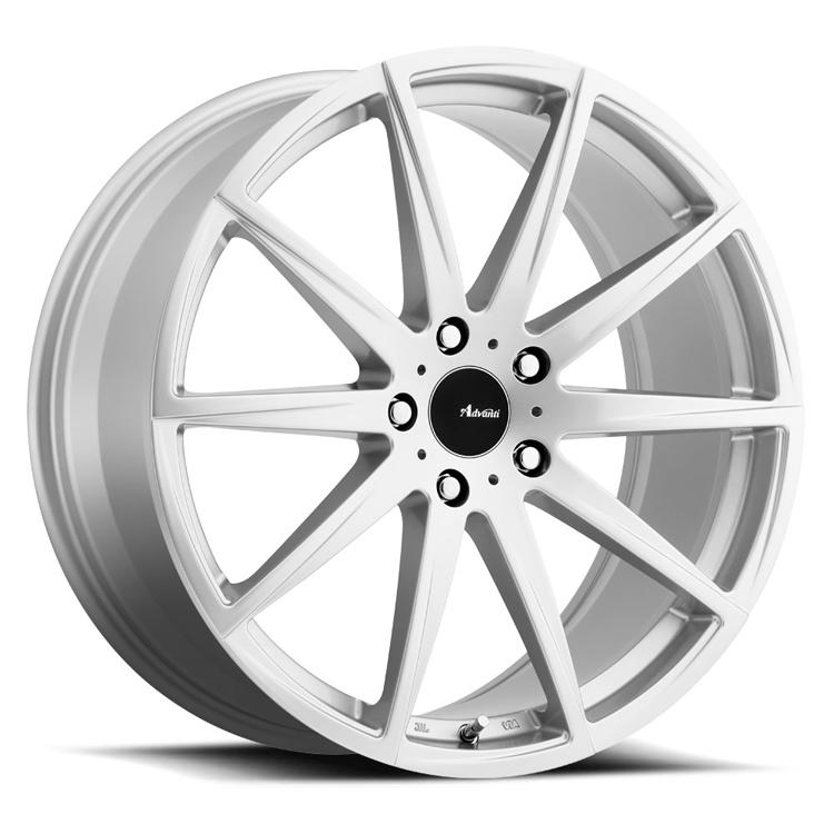 Advanti Wheels Dieci - Bright Silver Rim
