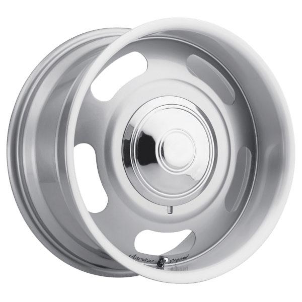 American Legend Wheels Cruiser - Silver Pain Rim