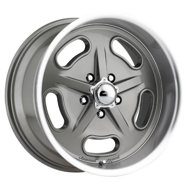 American Legend Wheels Racer - Grey Rim