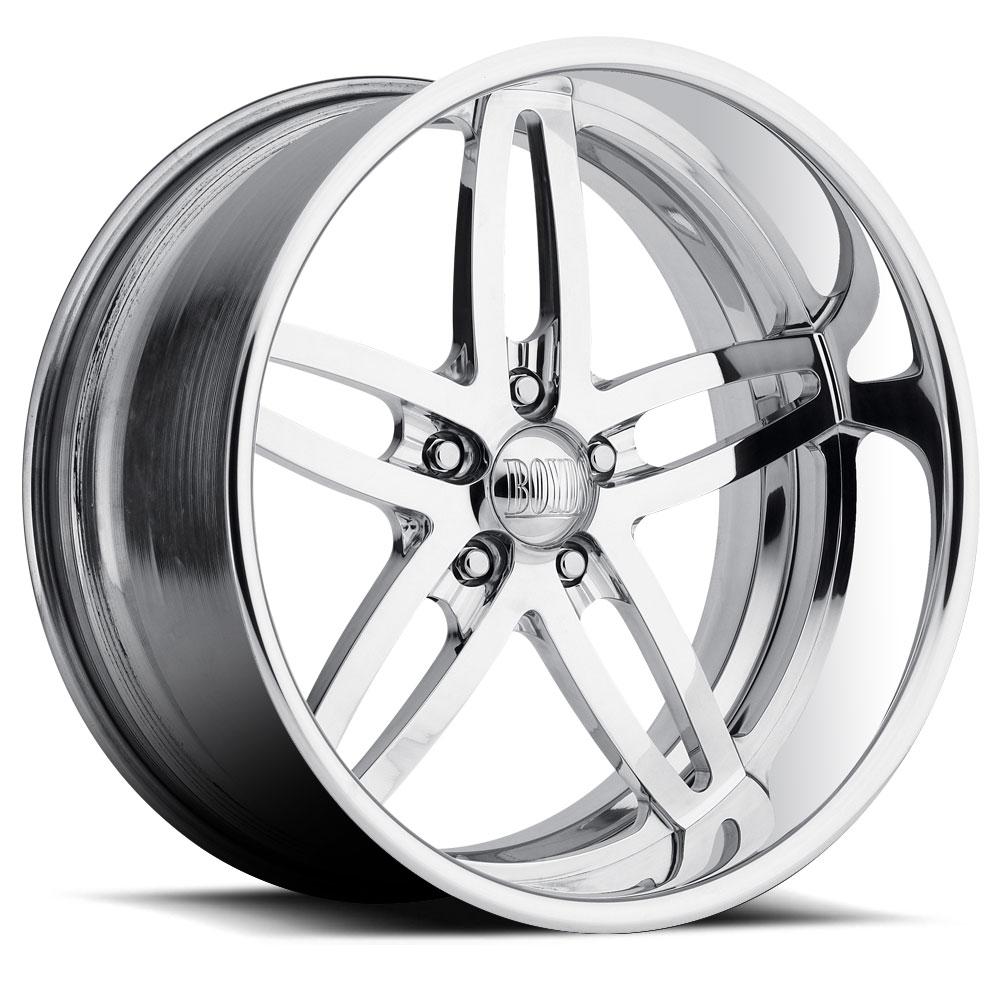 Boyd Coddington Wheels Blaster - Polished Rim