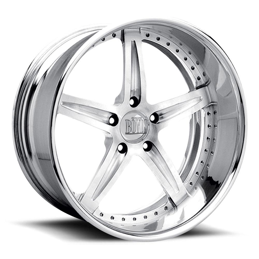 Boyd Coddington Wheels F-09 - Polished Rim