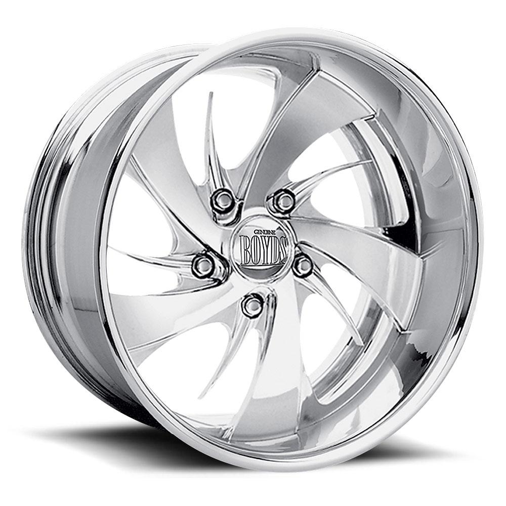 Boyd Coddington Wheels Harm - Polished Rim