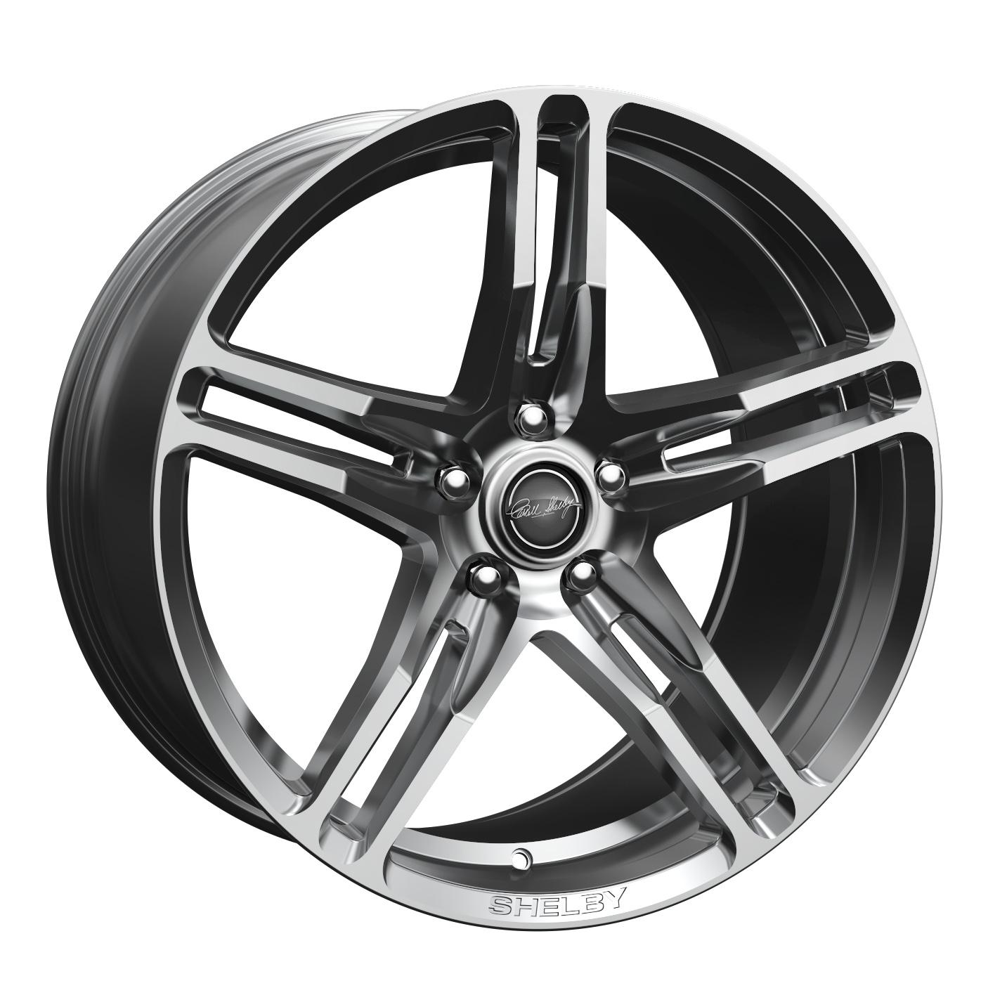 Carroll Shelby Wheels CS 14 - Chrome Powder (Hyper Silver) Rim