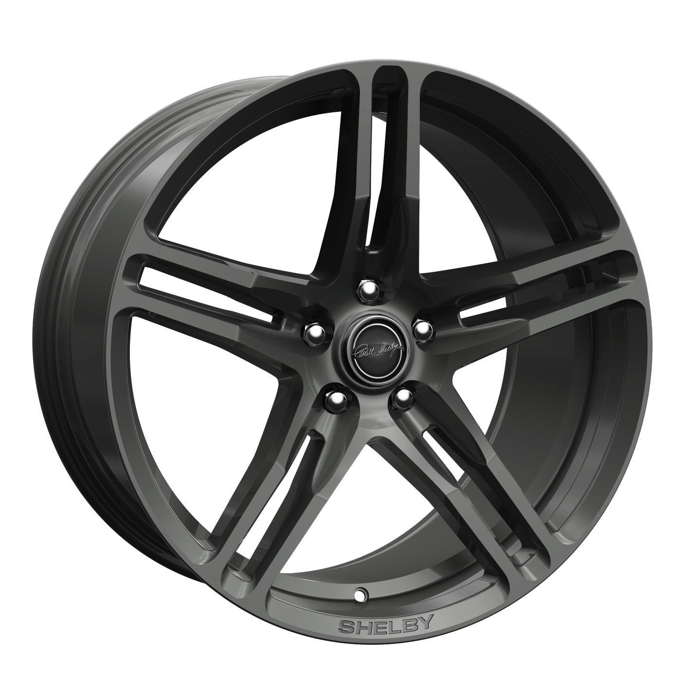 Carroll Shelby Wheels CS 14 - Gunmetal Rim