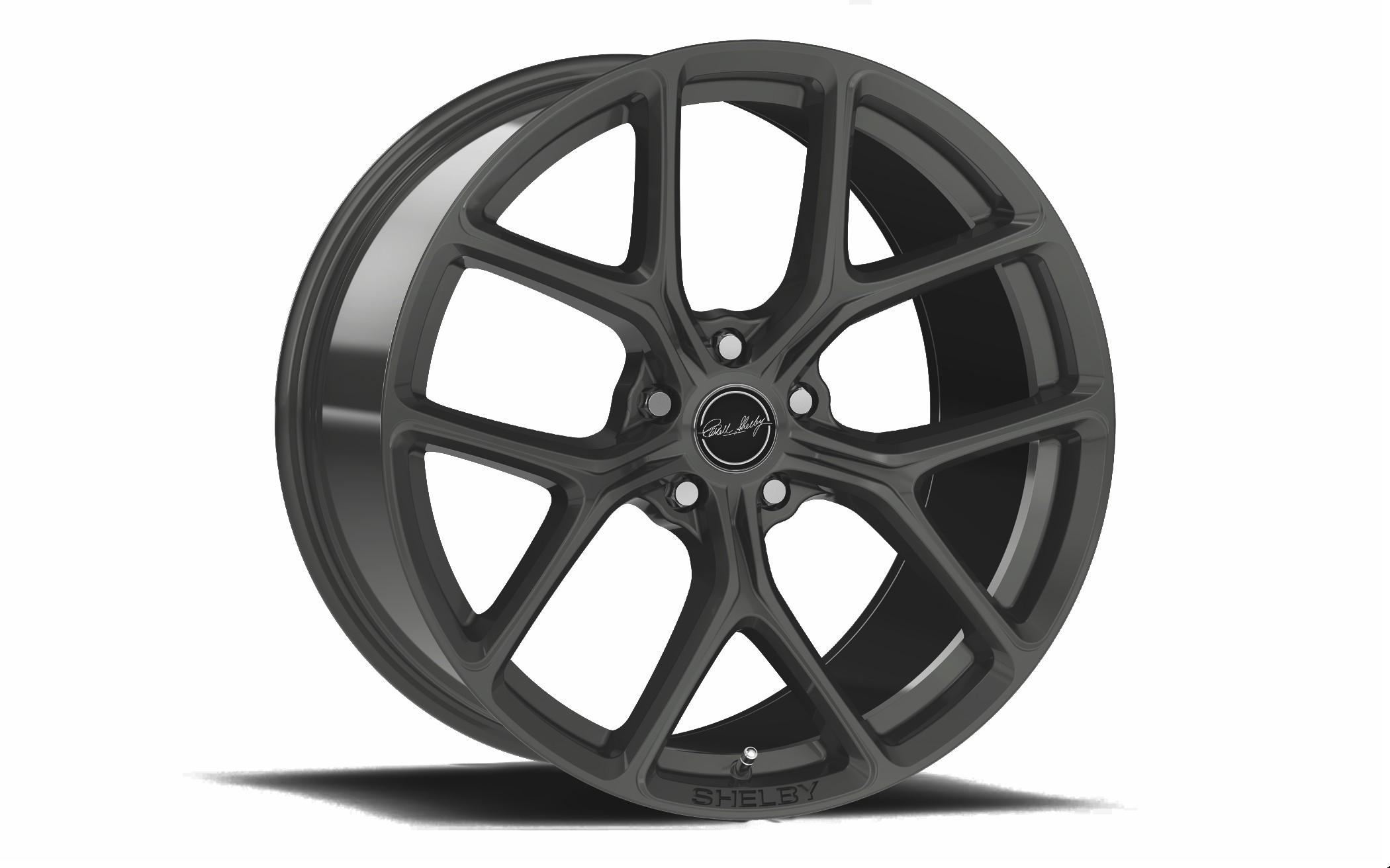 Carroll Shelby Wheels CS 3 - Gunmetal Rim