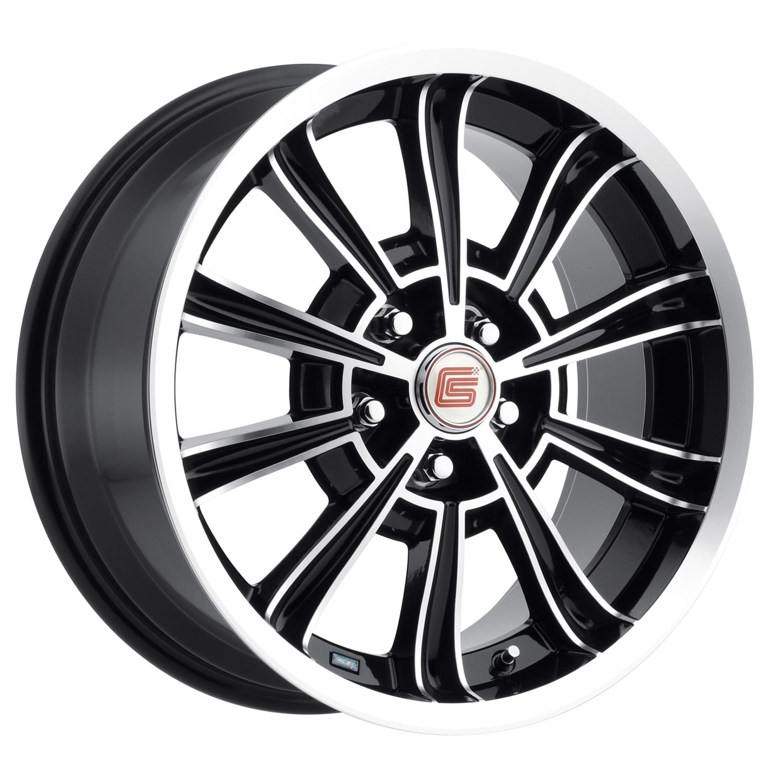 Carroll Shelby Wheels CS 66 - Black Rim