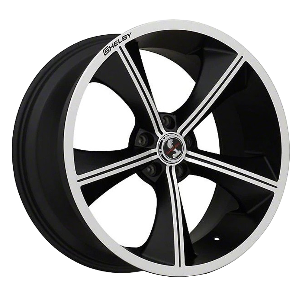 Carroll Shelby Wheels CS-70 - Black with Machind Face Rim