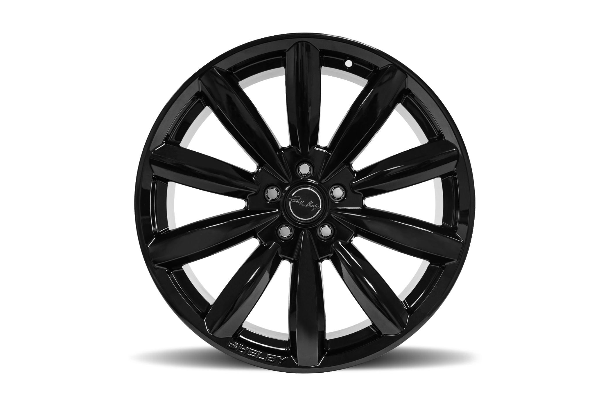 Carroll Shelby Wheels CS80 - Black Rim