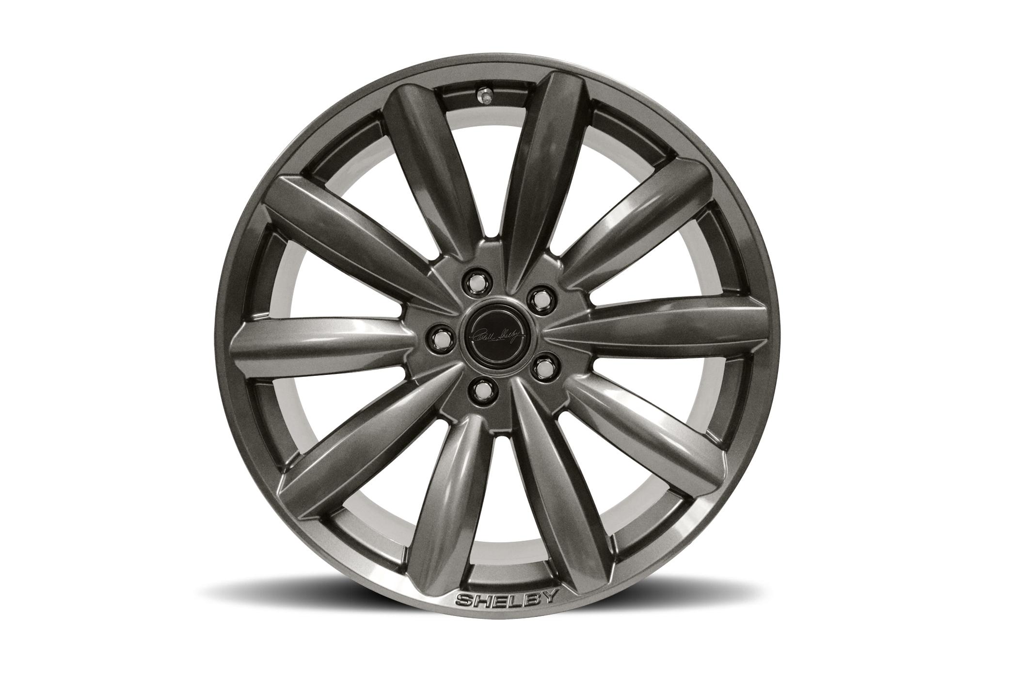 Carroll Shelby Wheels CS80 - Gunmetal Rim