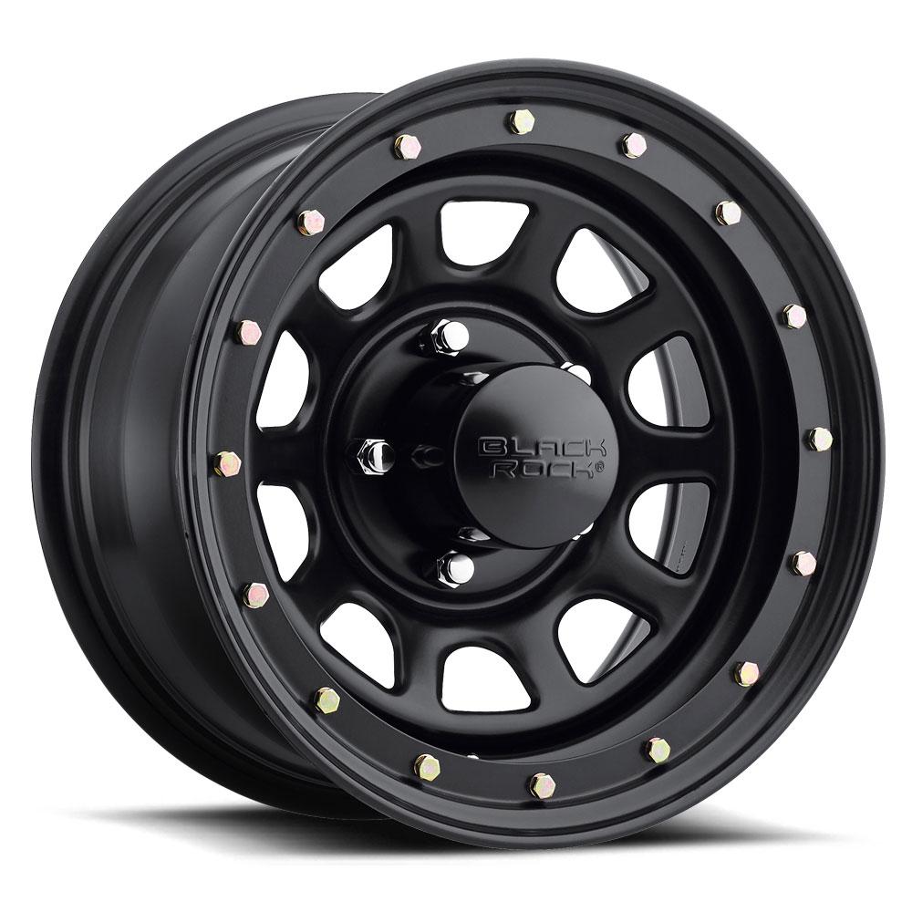 Black Rock Wheels Series 952 Street Lock - Matte Black Rim