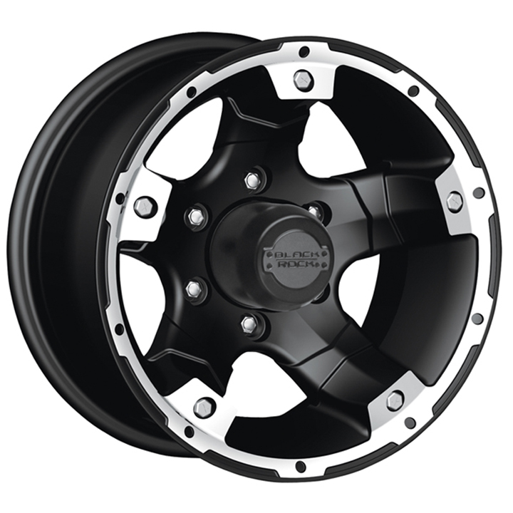 Black Rock Wheels 900B Viper - Black Rim