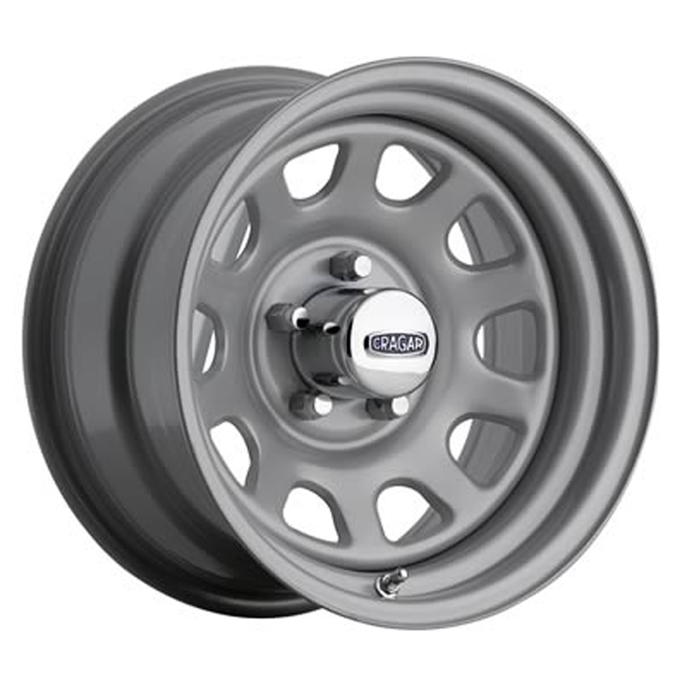 Cragar Wheels 345 D Window - Silver Rim