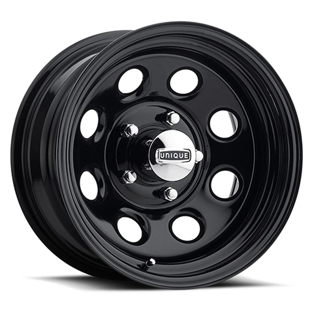 Hot Rod Hanks Wheels 297 Soft 8 - Gloss Black Powdercoated Rim