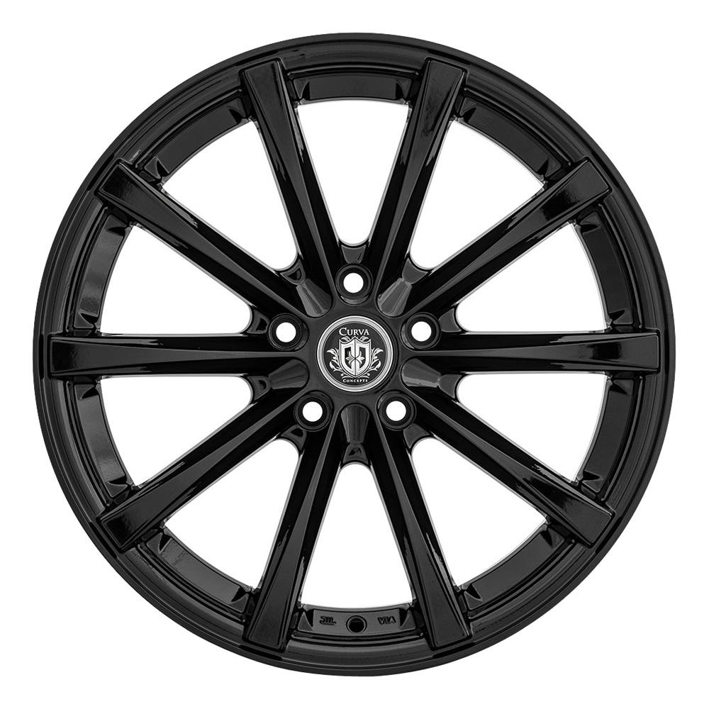 Curva Wheels C10N - Gloss Black Rim