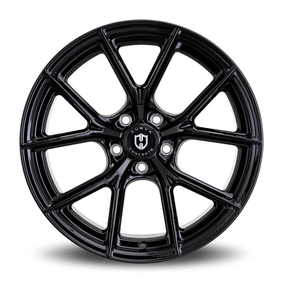 Curva Wheels C70 - Gloss Black Rim