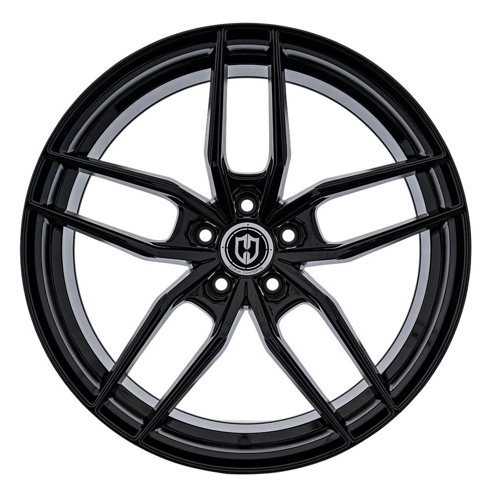 Curva Wheels CFF25 - Gloss Black Rim