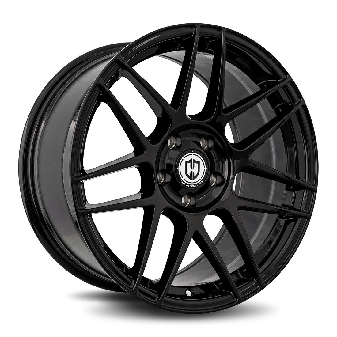 Curva Wheels CFF300 - Gloss Black Rim