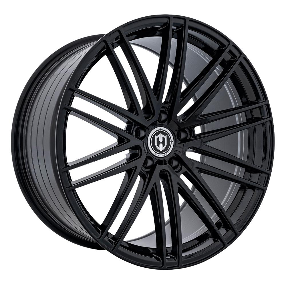 Curva Wheels CFF50 - Gloss Black Rim
