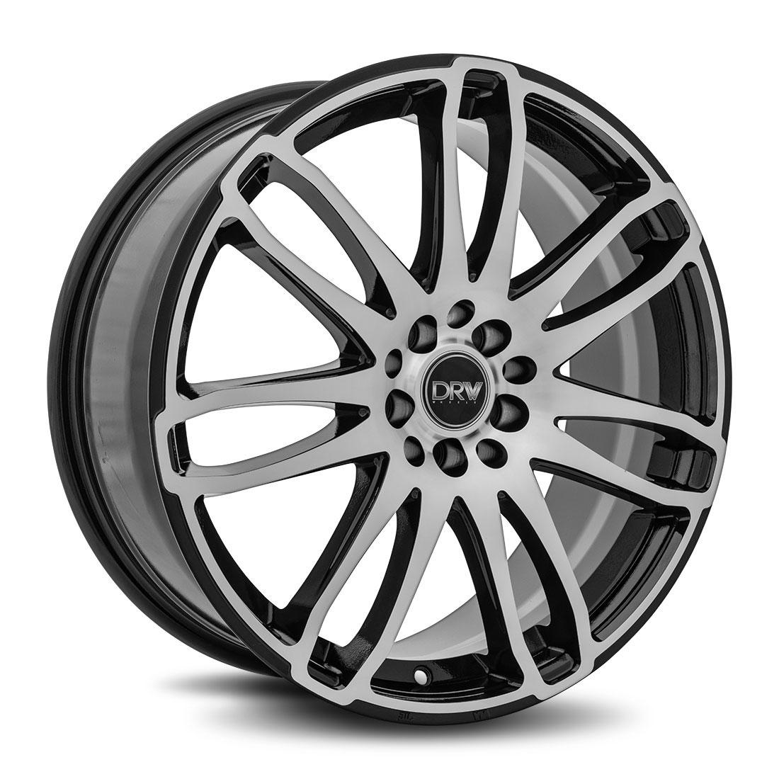 Diablo Racing Wheels DRW D14 - Gloss Black Machine Face Rim