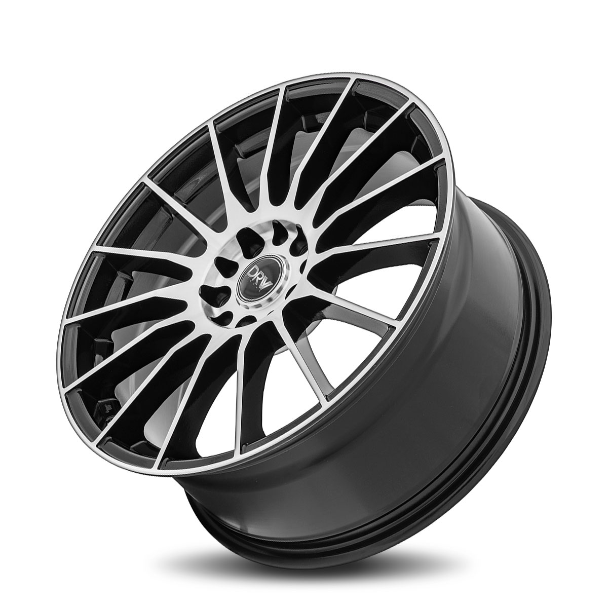 Diablo Racing Wheels DRW D15 - Gloss Black Machined Face Rim
