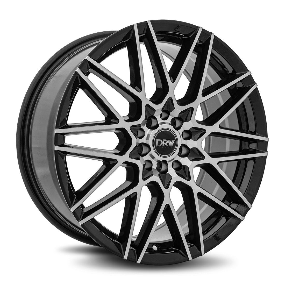 Diablo Racing Wheels DRW D17 - Gloss Black Machine Face Rim