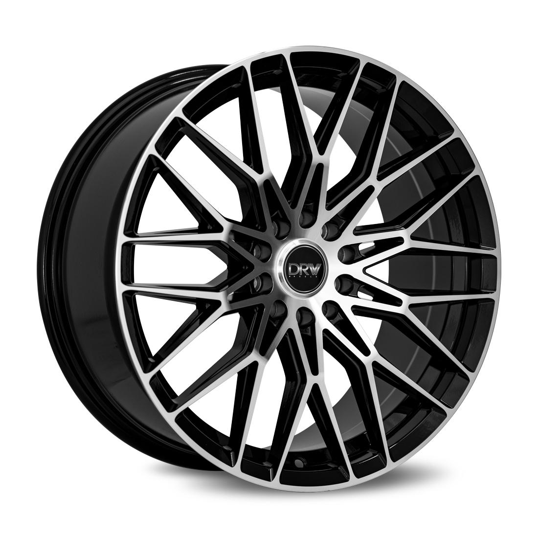 Diablo Racing Wheels DRW D21 - Gloss Black Machined Face Rim