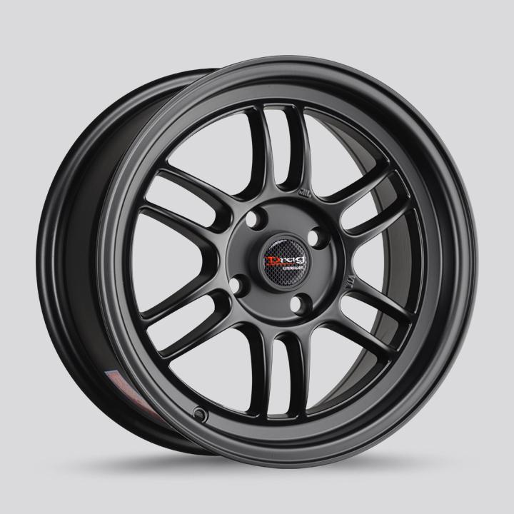 Drag Wheels DR21 - Flat Black