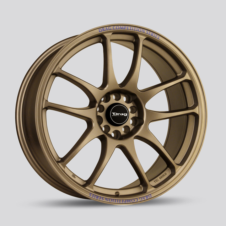 Drag Wheels DR31 - Bronze Rim