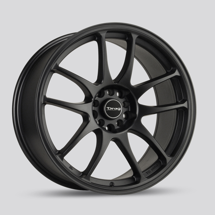 Drag Wheels DR31 - Flat Black Rim