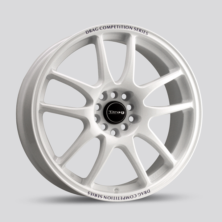 Drag Wheels DR31 - White Rim