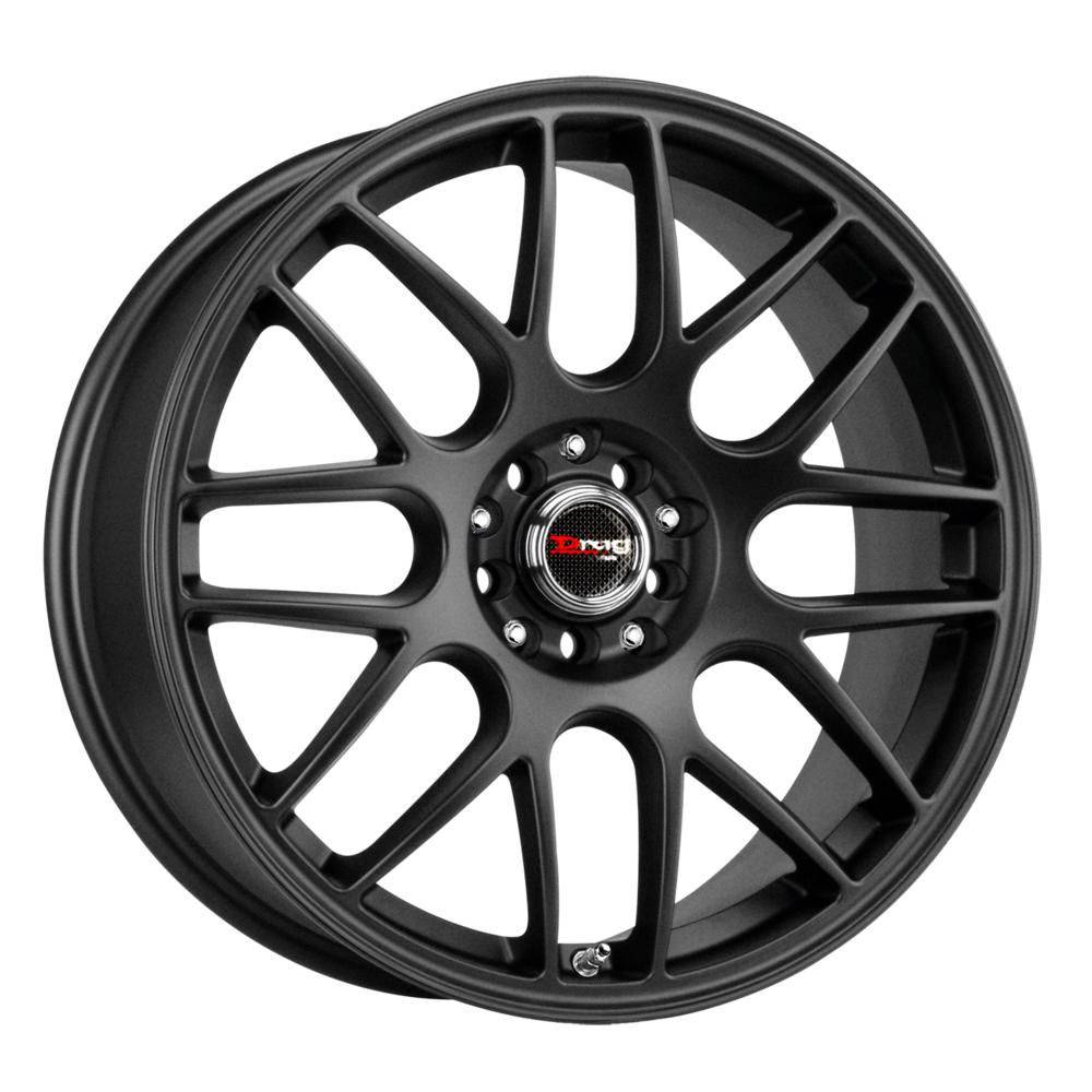 Drag Wheels DR34 - Flat Black Rim